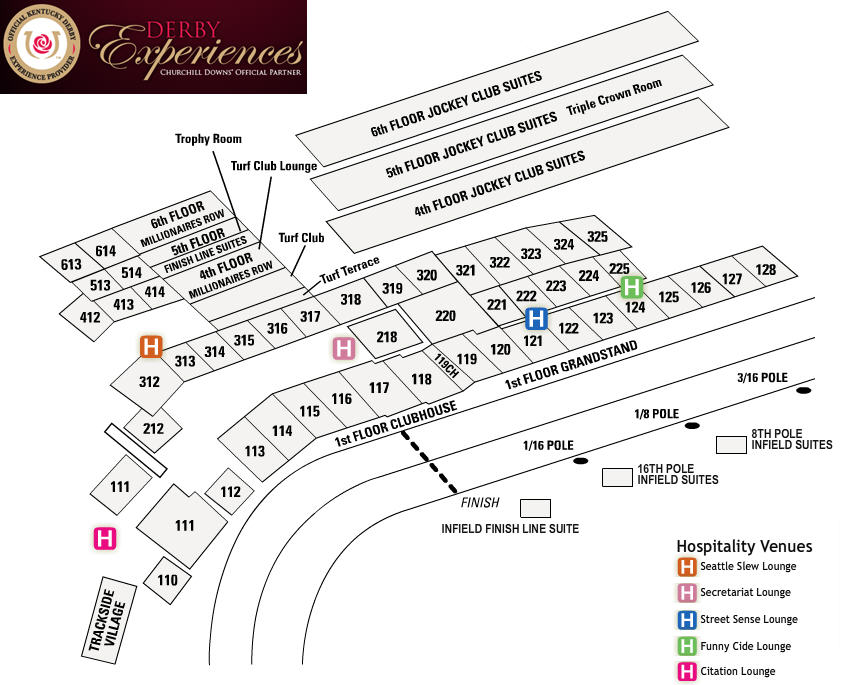 Kentucky Derby Seating-Hospitality-DerbyExperiences-QuintEvents