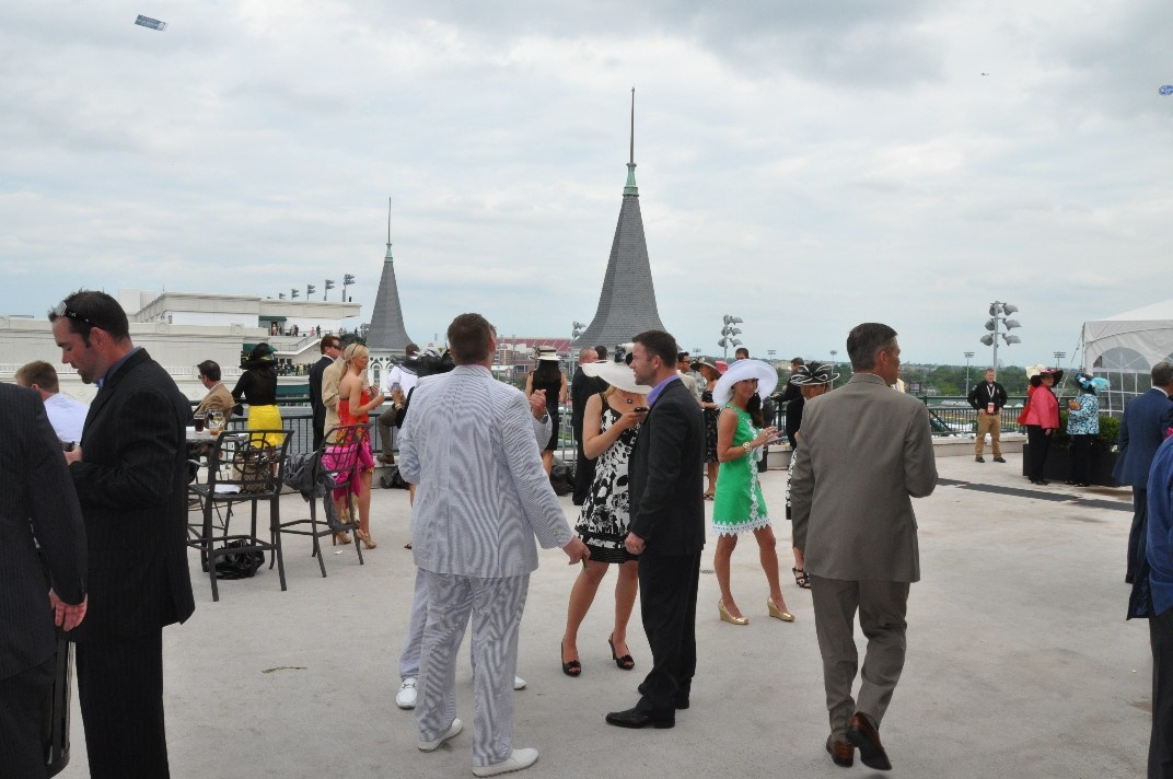 Trophy Room at the Kentucky Derby