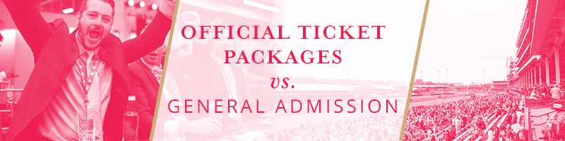 Official Ticket Package vs. General Admission Ticket