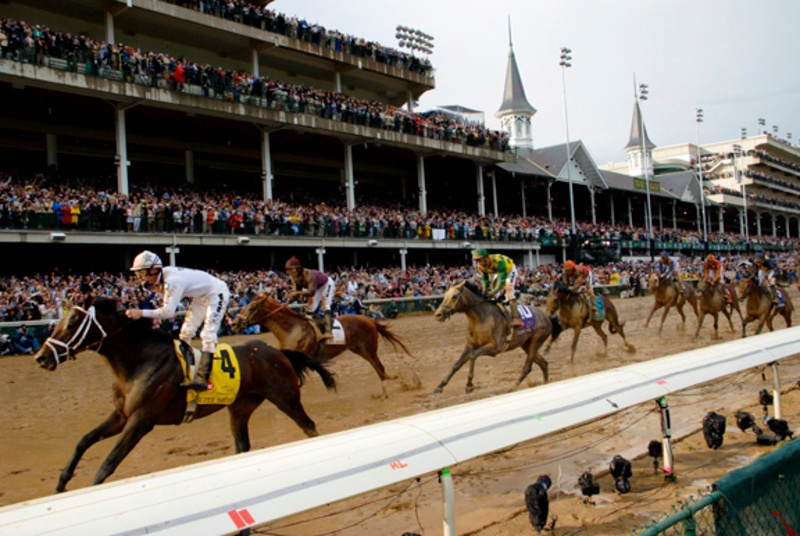Kentucky Derby 2014 Pictures Clubhouse Purple View from Infield Derby Experiences QuintEvents