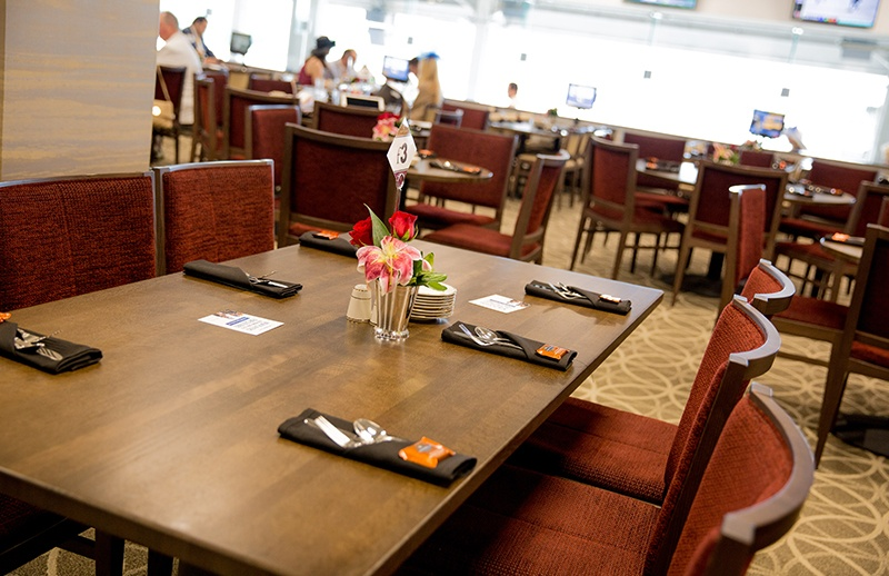 Turf Club Dining Room at Kentucky Derby