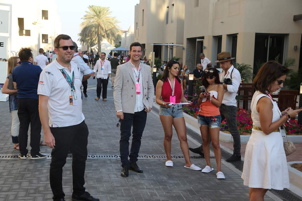 champions club guided paddock access