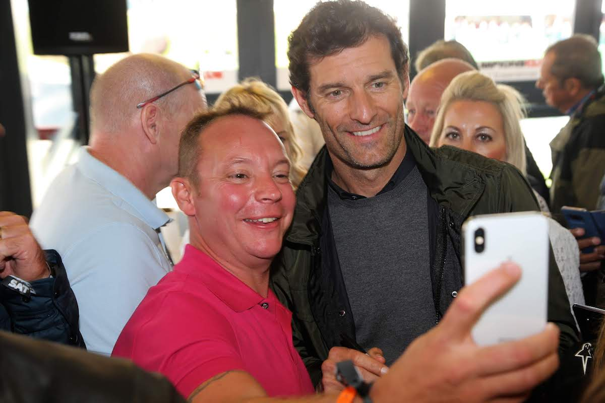 champions club guest appearance mark webber
