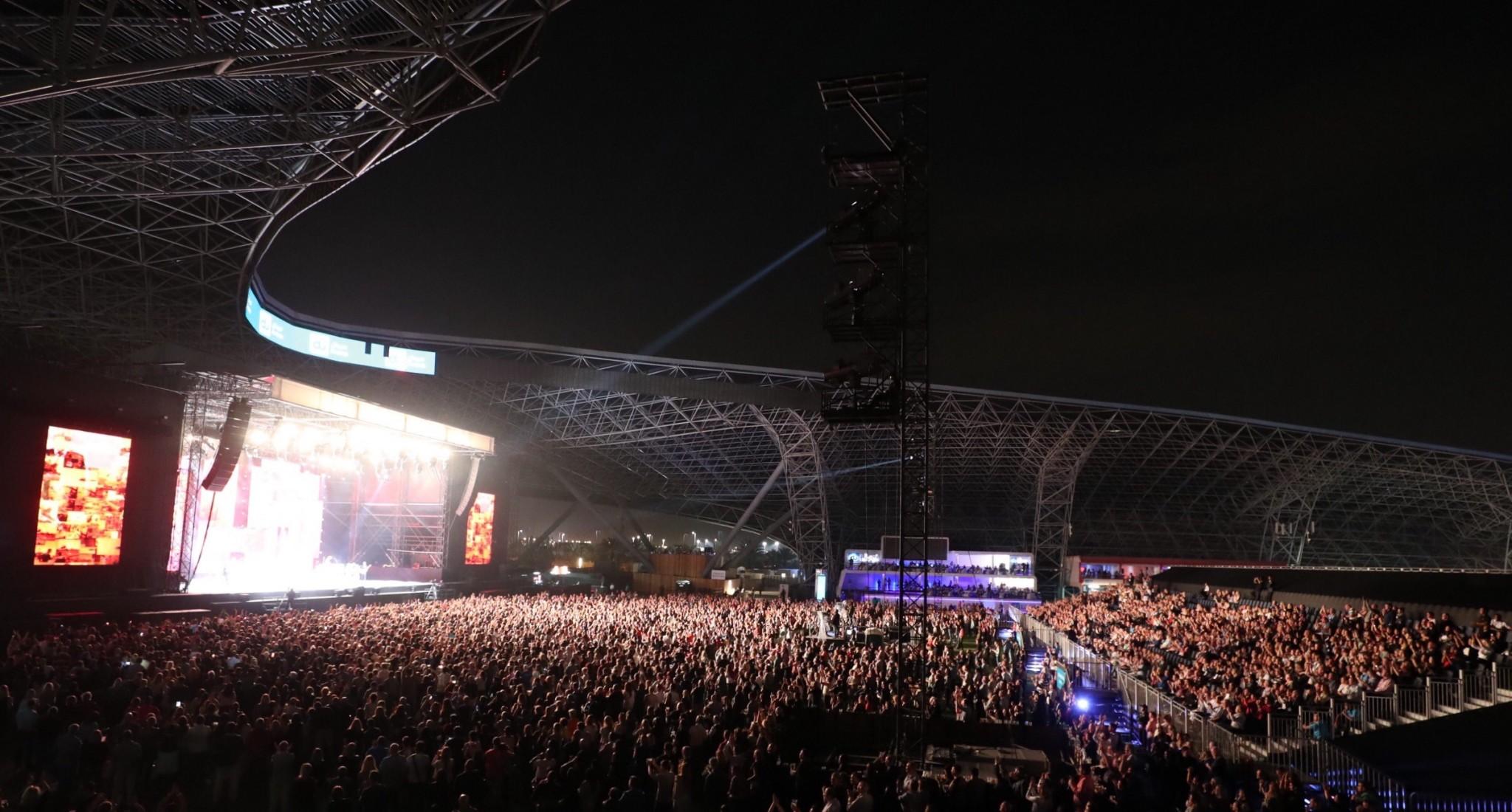 du arena concerts abu dhabi grand prix