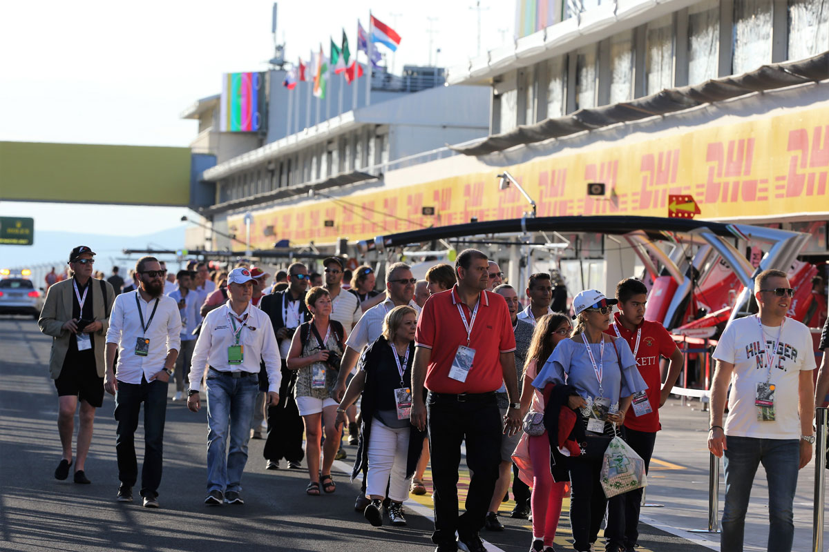 F1 Experiences Corporate Hospitality Hungary
