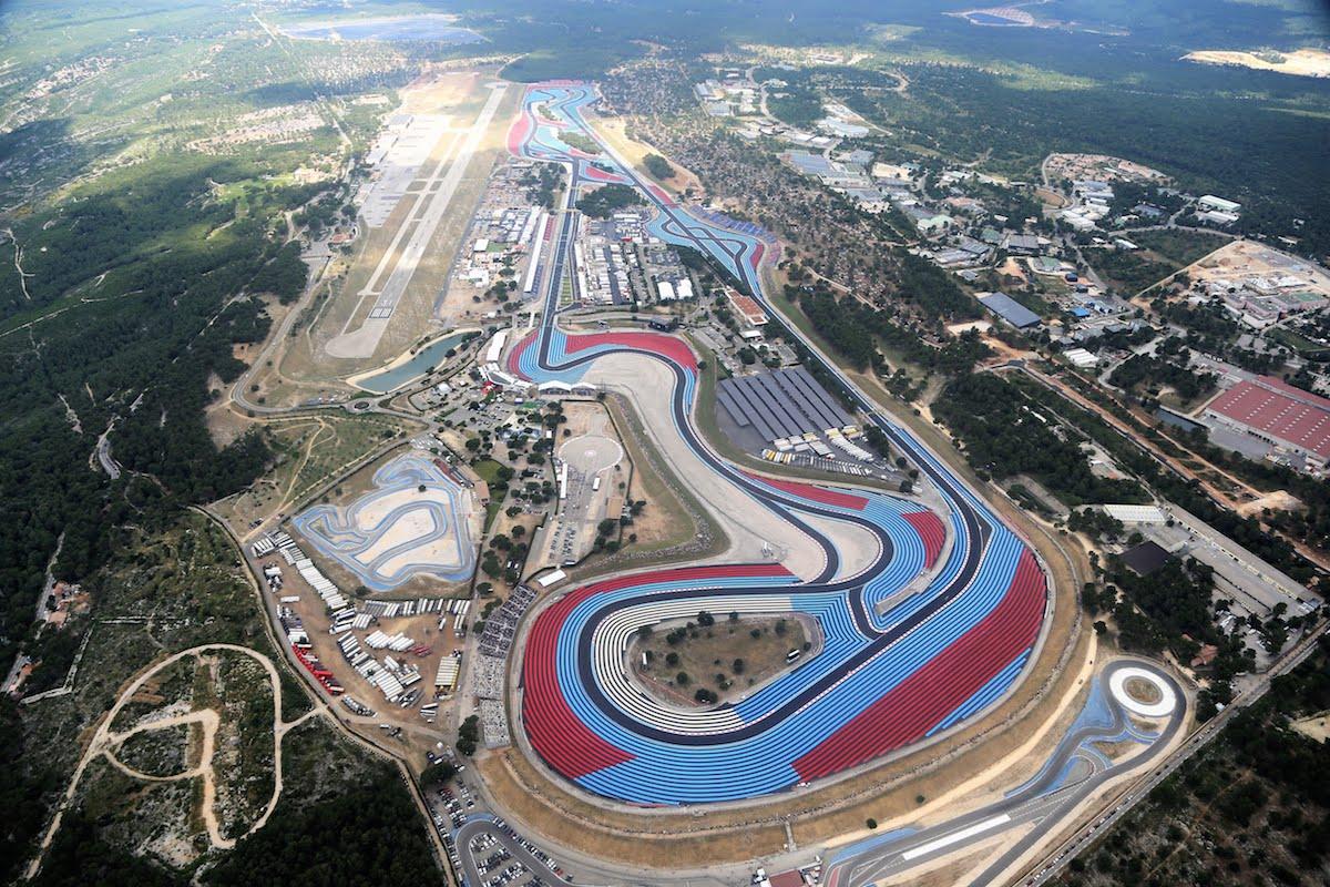 Circuit Paul Ricard aerial view