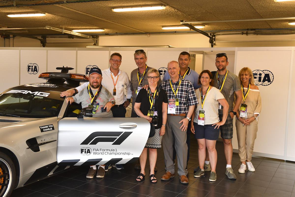 F1 Insider Access Safety Car