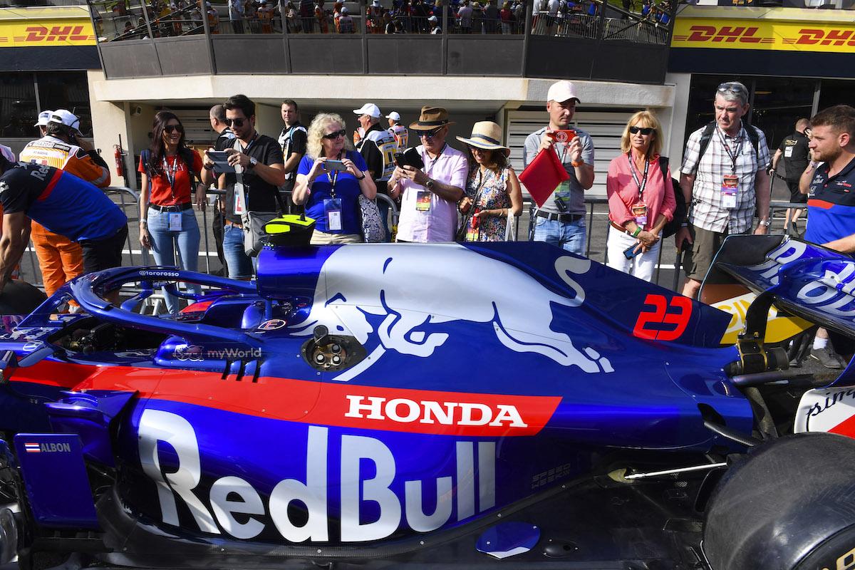 exclusive pit lane walk french grand prix