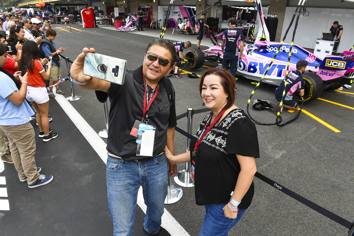 mexican grand prix f1 experiences exclusive pit lane walk