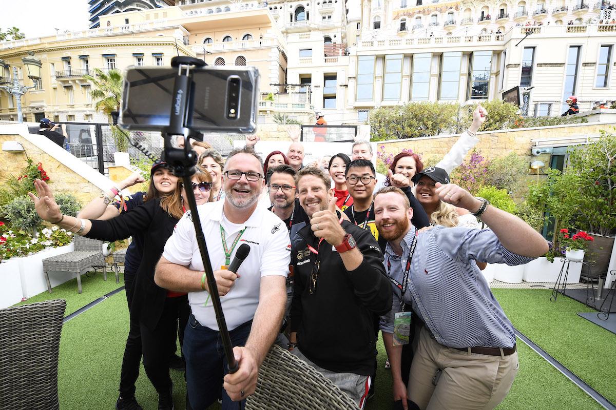 La Maree Restaurant Monaco Grand Prix
