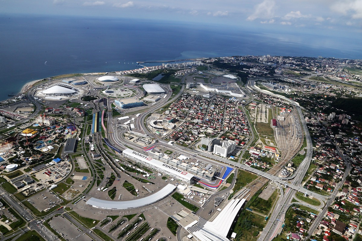 2019 Russian Grand Prix - Trackside at Sochi Autodrom
