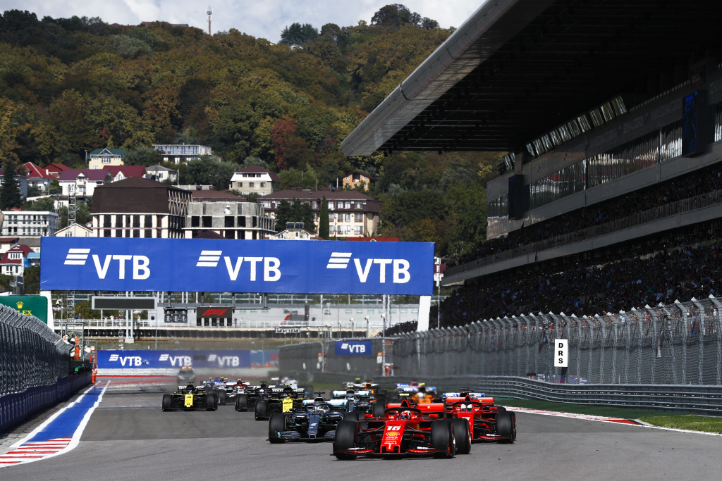 F1 Experiences 2019 Russian Grand Prix Highlights