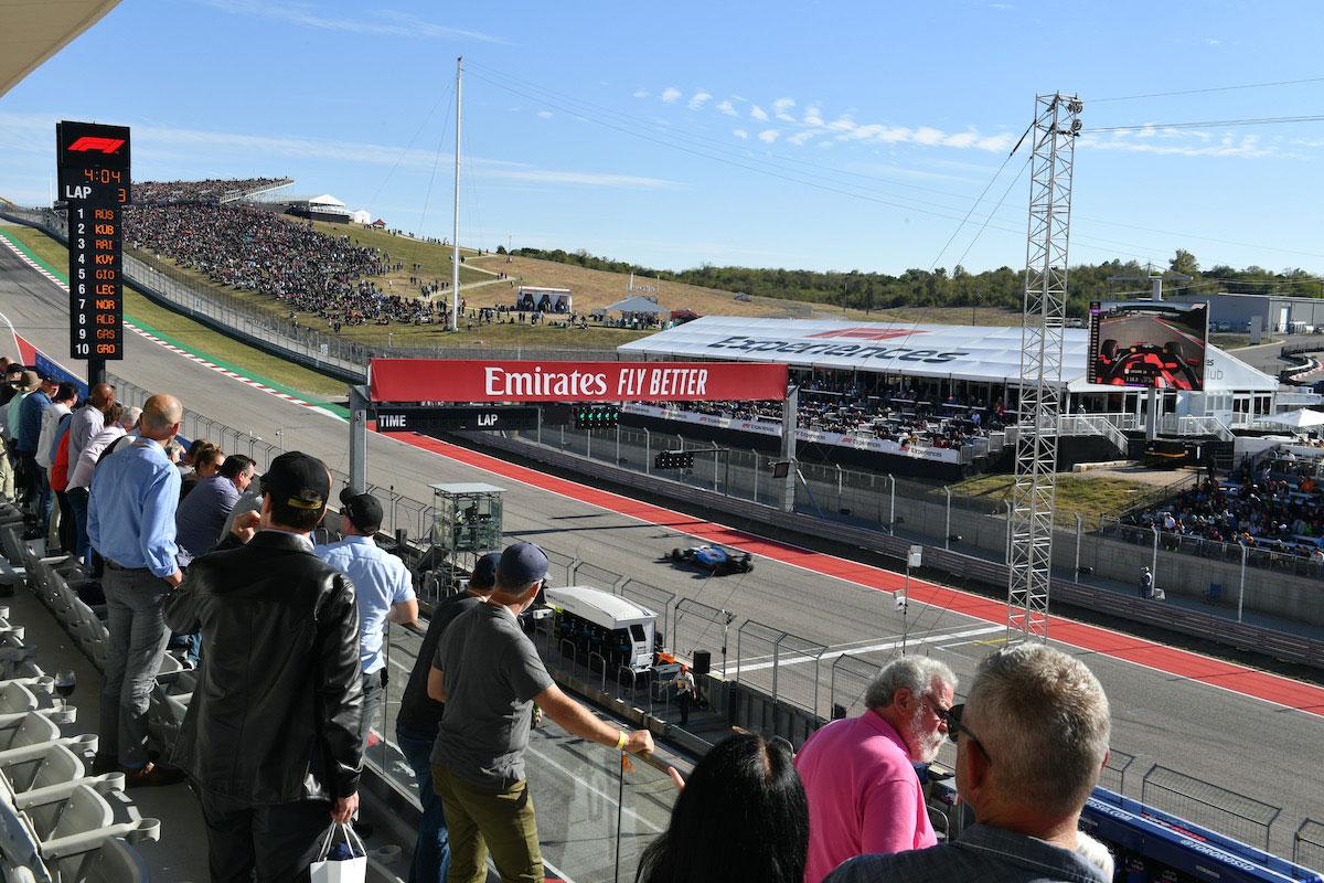 2020 United States Grand Prix F1 Experiences