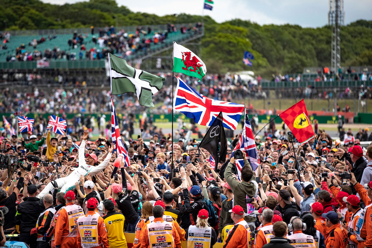 2020 British GP F1 Experiences