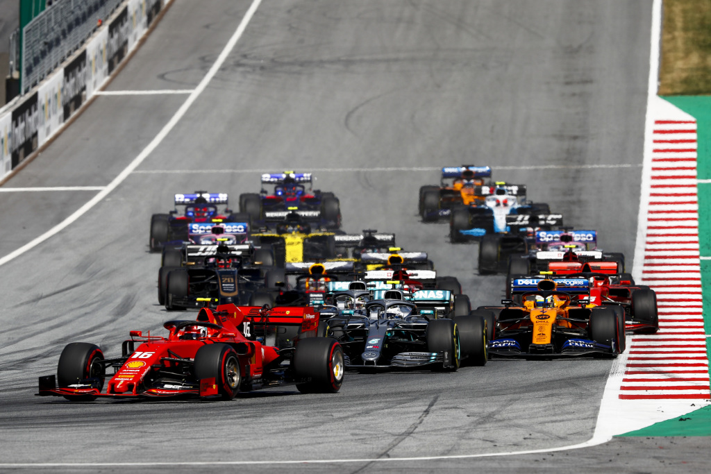 2020 F1 calendar announced