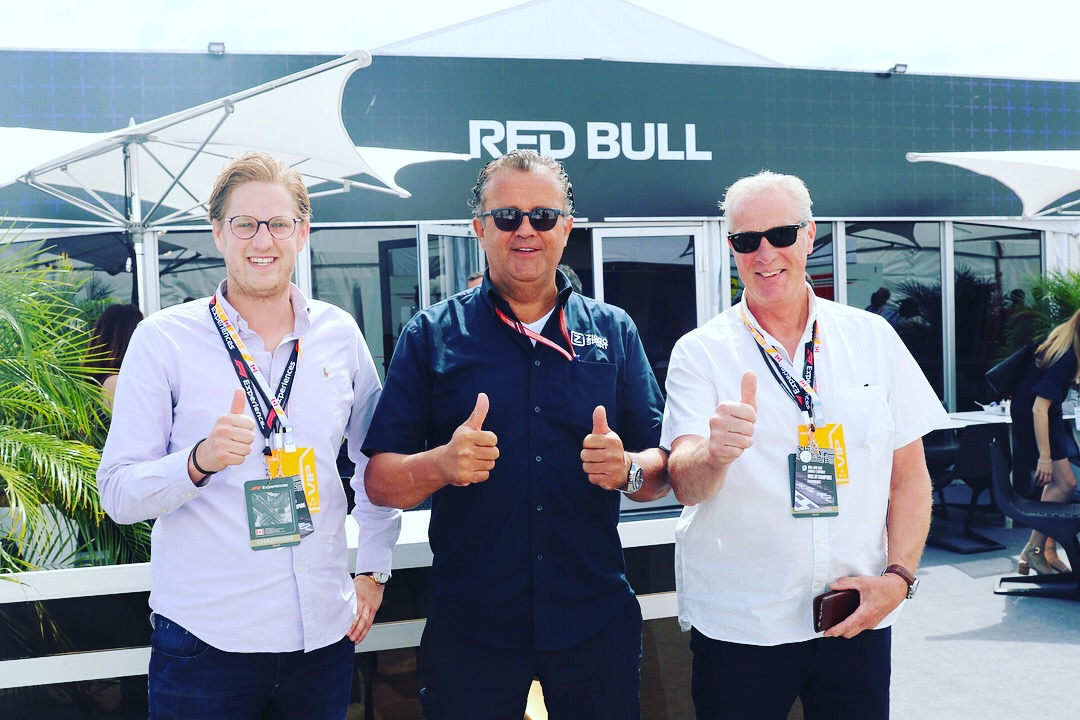 hans peters 2018 canadian gp with f1 experiences