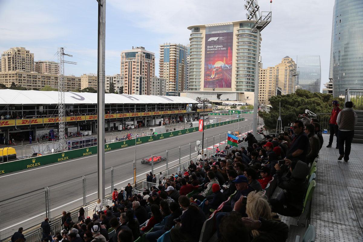 absheron grandstand azerbaijan grand prix