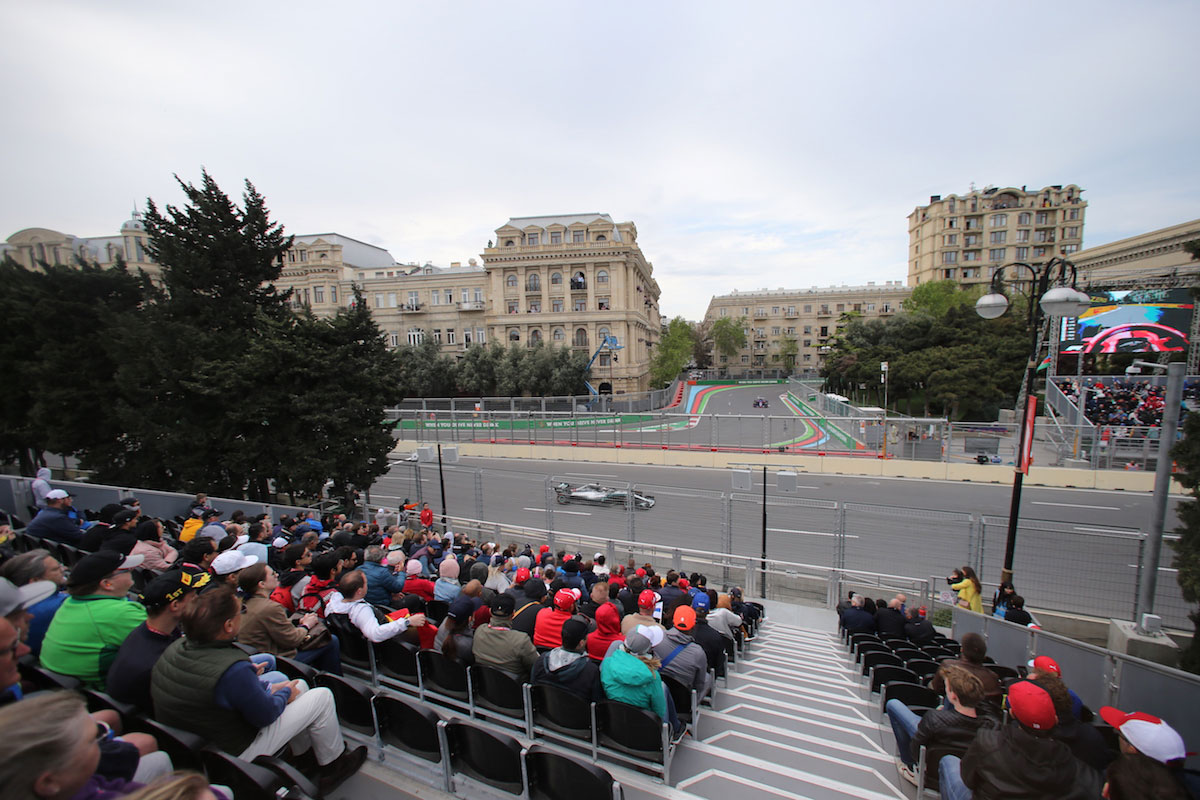 sahil grandstand azerbaijan grand prix