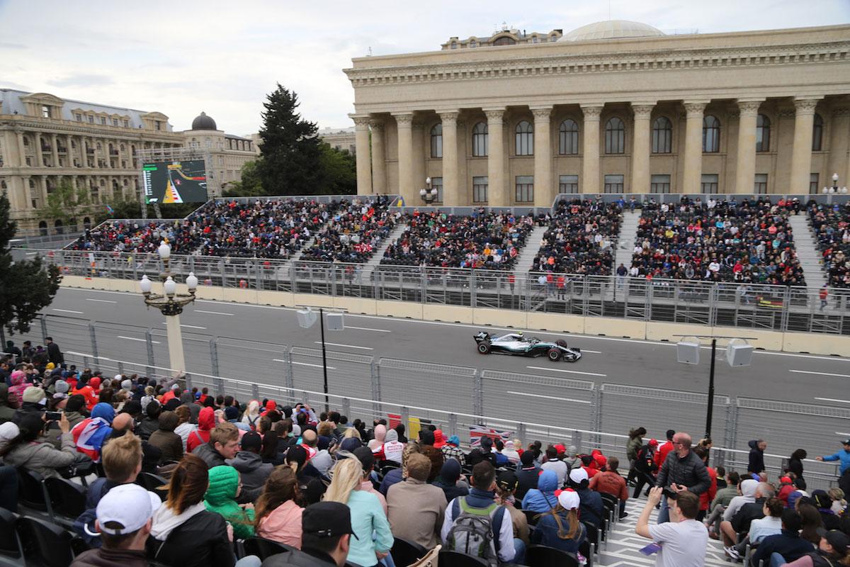 bulvar grandstand azerbaijan grand prix