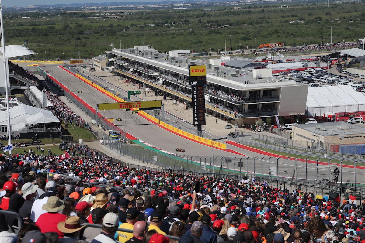 Turn 1 Grandstand USGP F1 Experiences