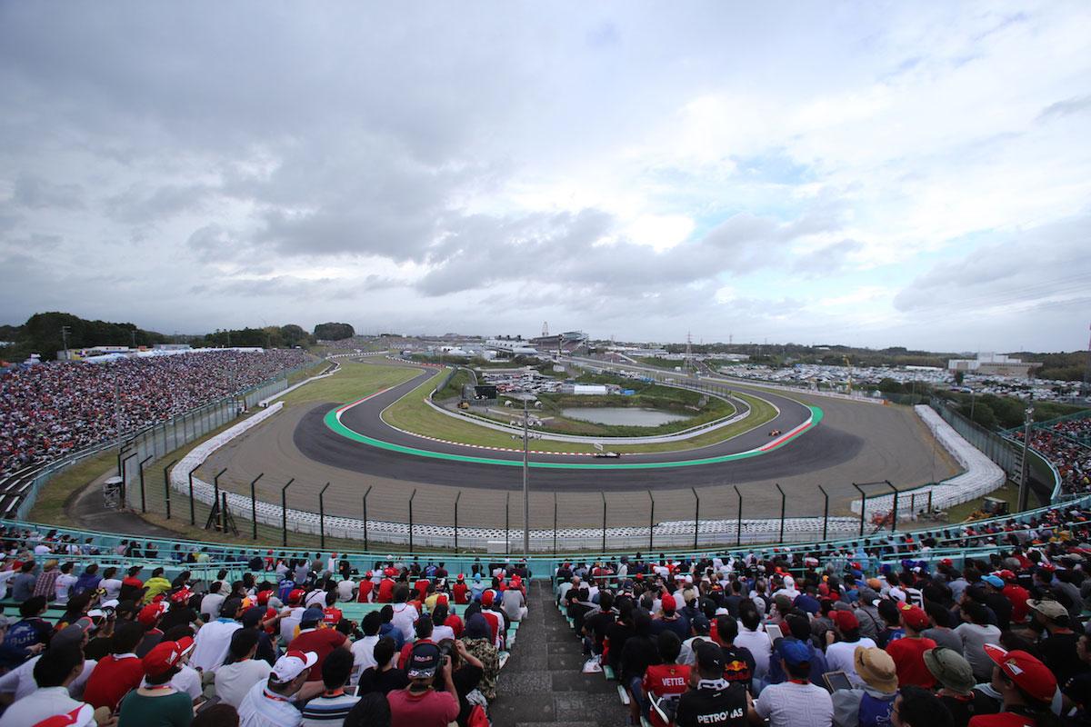 Grandstand B2 Upper Japanese Grand Prix F1 Experiences