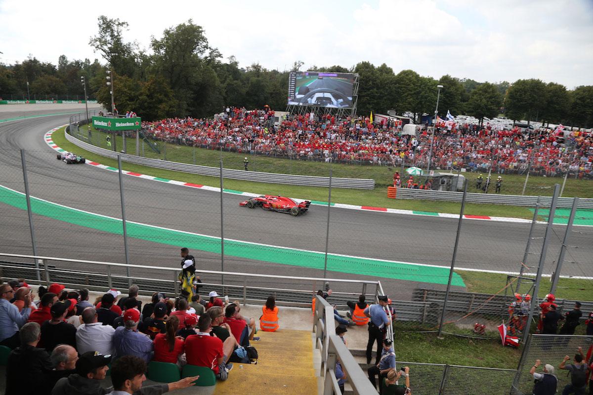 Parabolica Grandstand Italian Grand Prix F1 Experiences