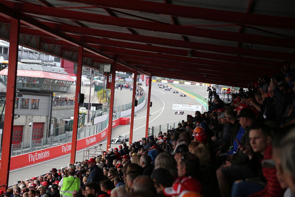 Gold 2 Grandstand Belgian Grand Prix F1 Experiences