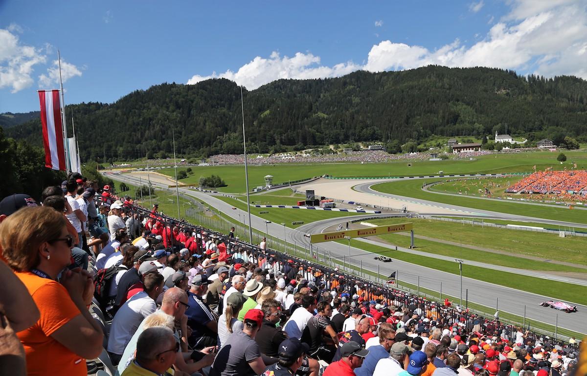 Red Bull Grandstand Austrian Grand Prix F1 Experiences