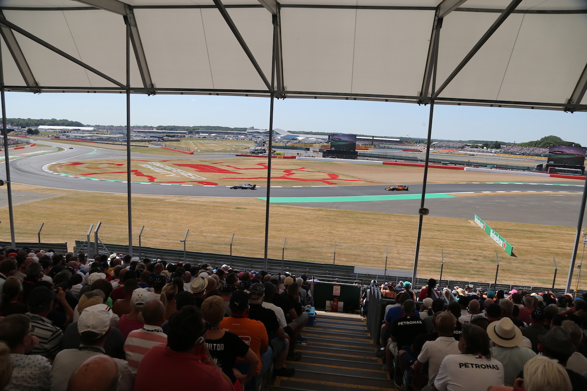 Becketts Grandstand British Grand Prix F1 Experiences