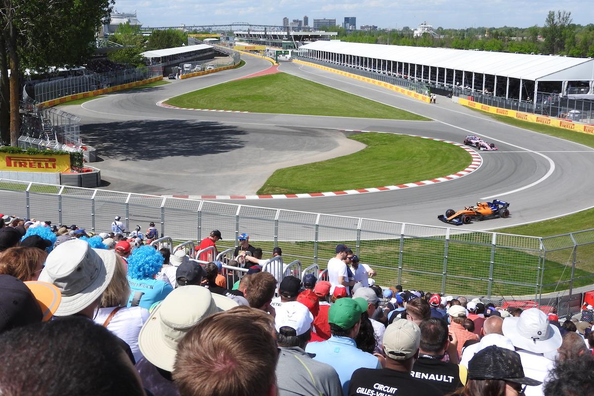 Grandstand 11 Canadian Grand Prix F1 Experiences