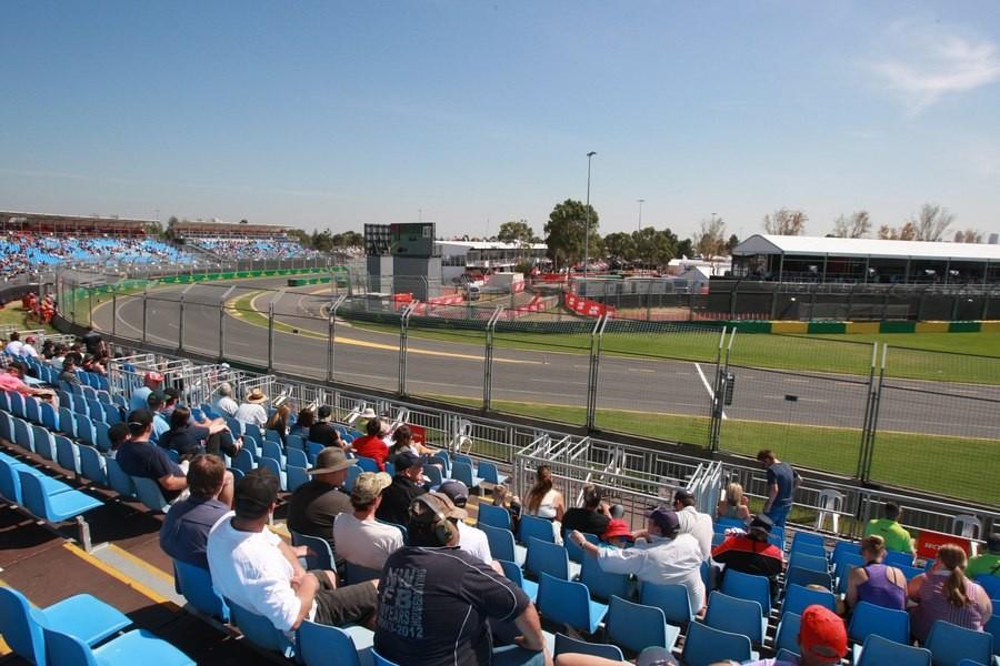Schumacher Grandstand Australian Grand Prix F1 Experiences