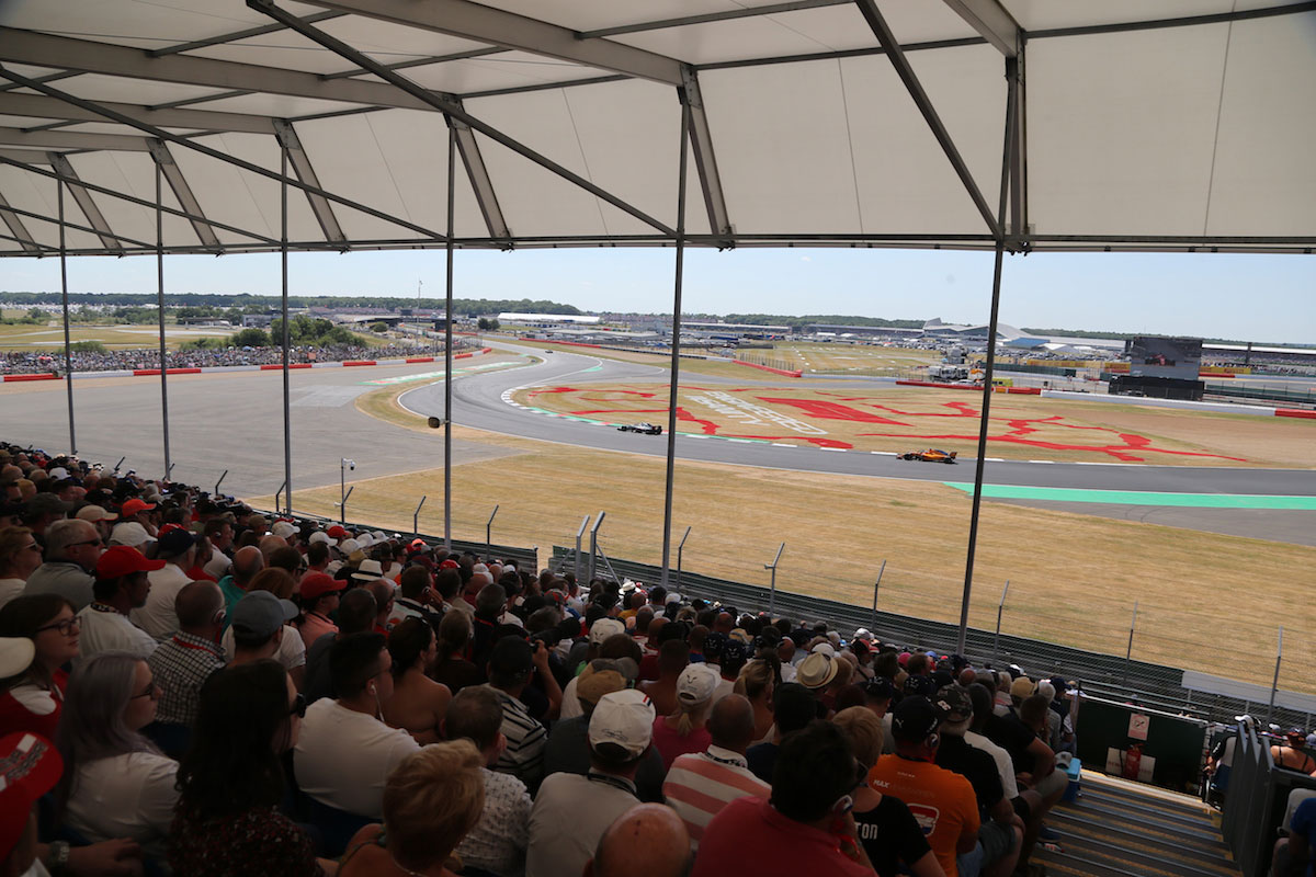 becketts granstand silverstone f1 experiences