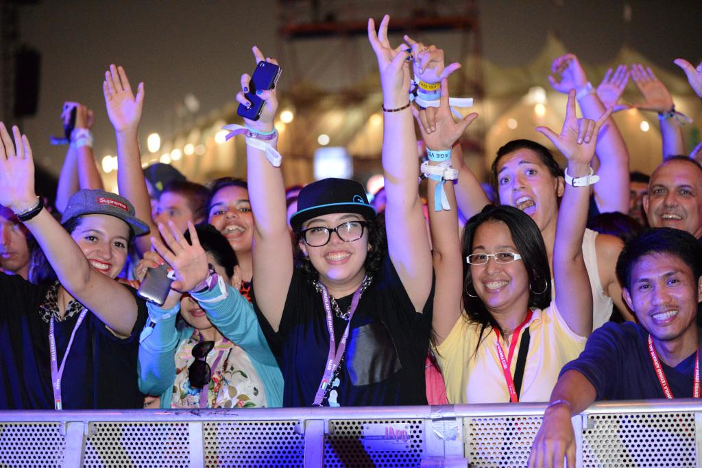 post race concerts Abu Dhabi Grand Prix