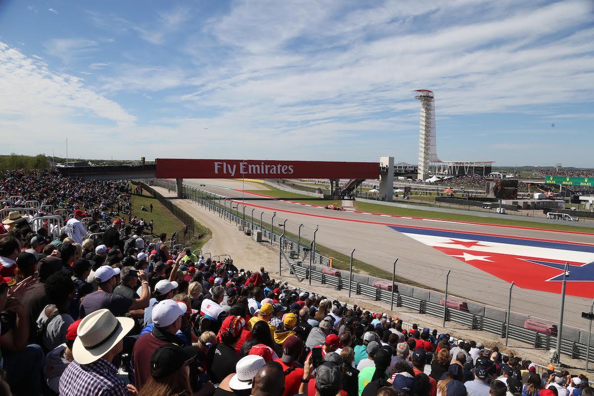 US GP COTA Turn 4 Grandstand