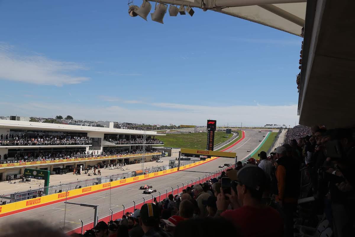 US GP COTA Main Grandstand