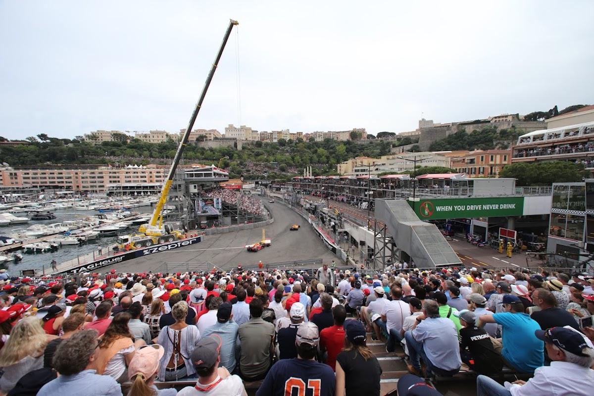 grandstand L monaco grand prix f1 experiences