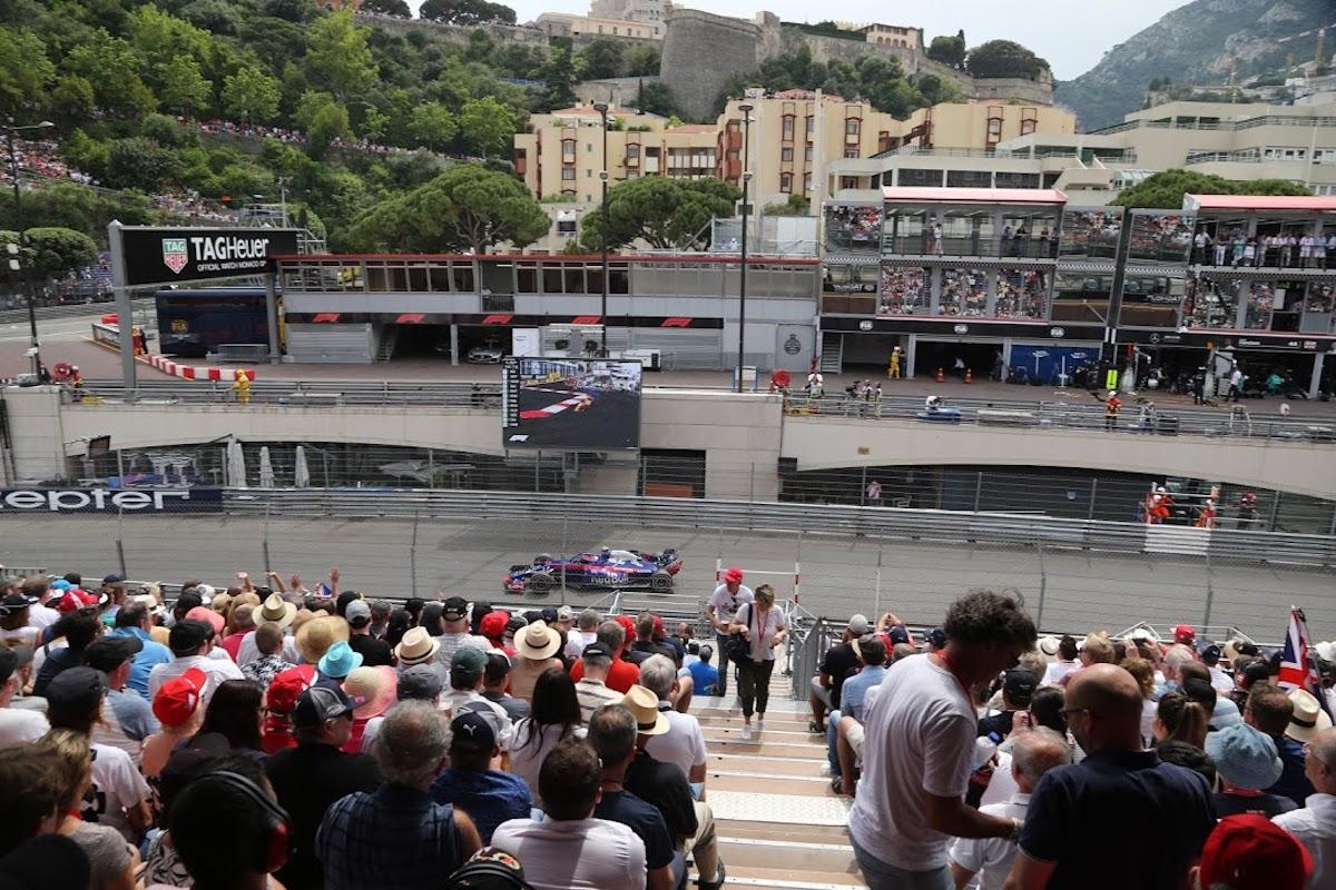grandstand T monaco grand prix f1 experiences