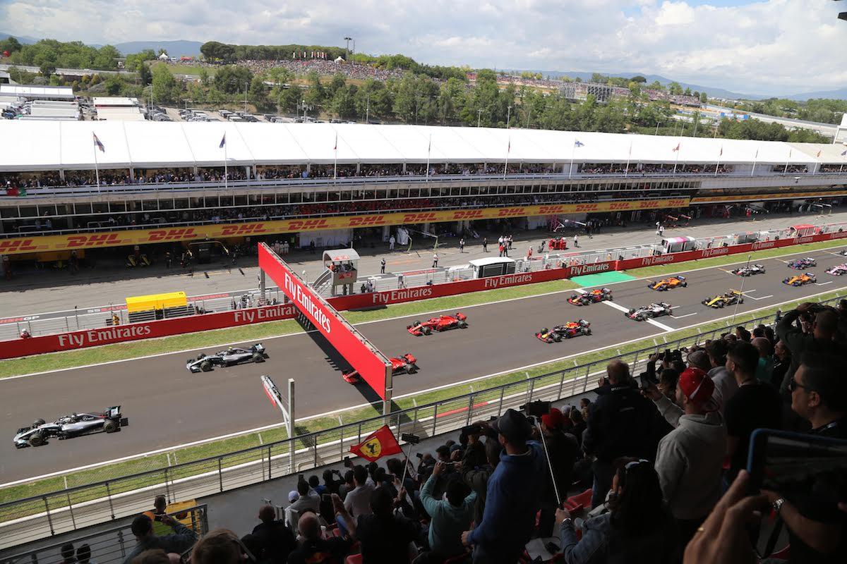 Main Grandstand Spanish Grand Prix