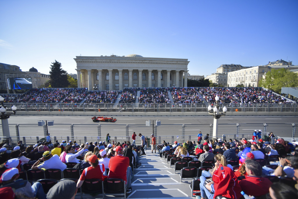 baku azerbaijan grand prix f1 experiences