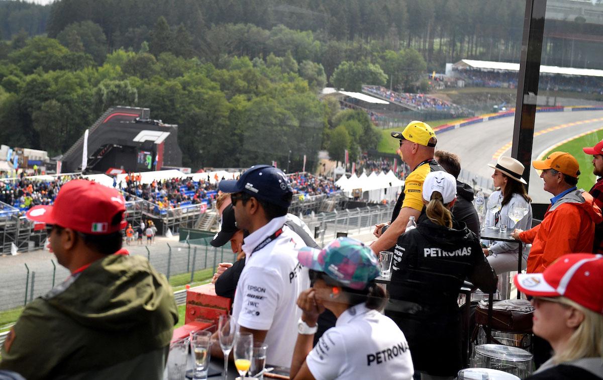 Champions Club F1 Experiences Belgian Grand Prix