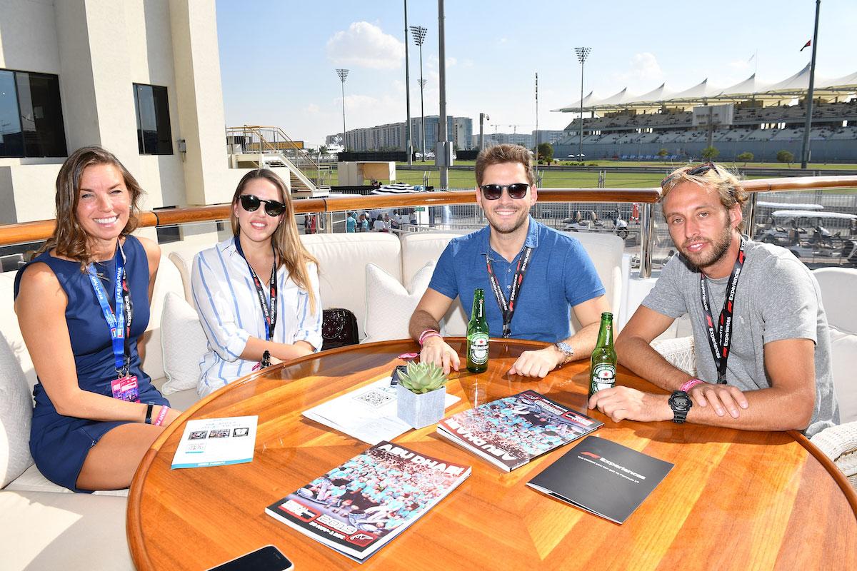 F1 Experiences Champions Club Trackside Yacht Abu Dhabi Grand Prix