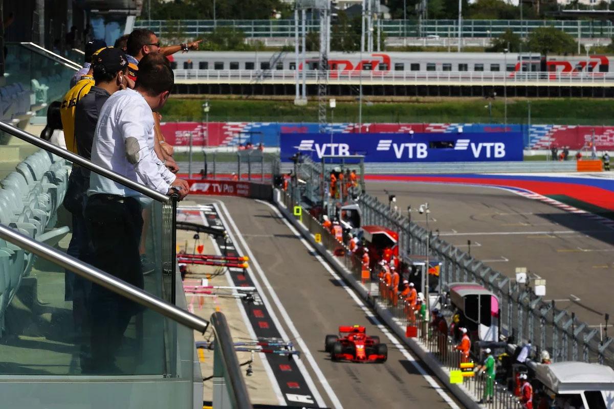 Russian Grand Prix Paddock Club Sochi Autodrom