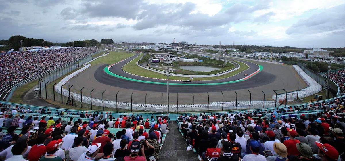 Japanese Grand Prix Suzuka Grandstand b