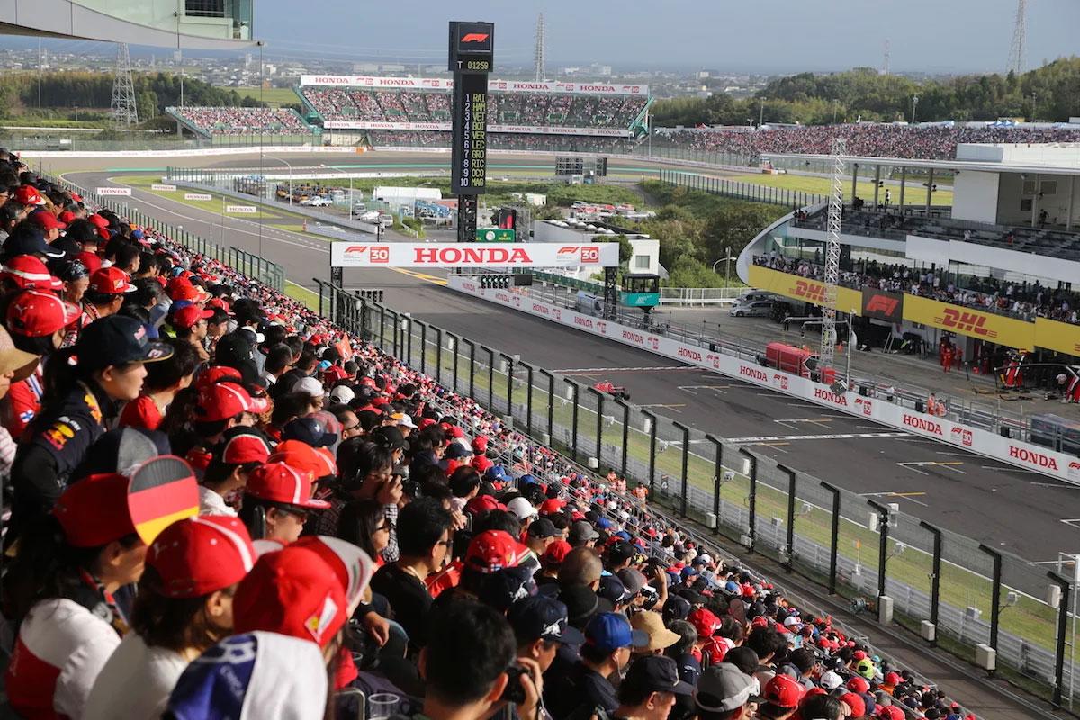 Japanese Grand Prix Suzuka Main Grandstand V2 Upper