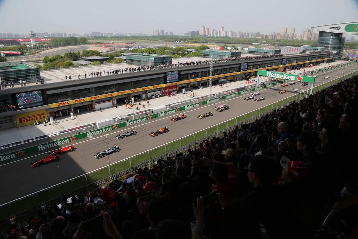 main grandstand A shanghai international circuit