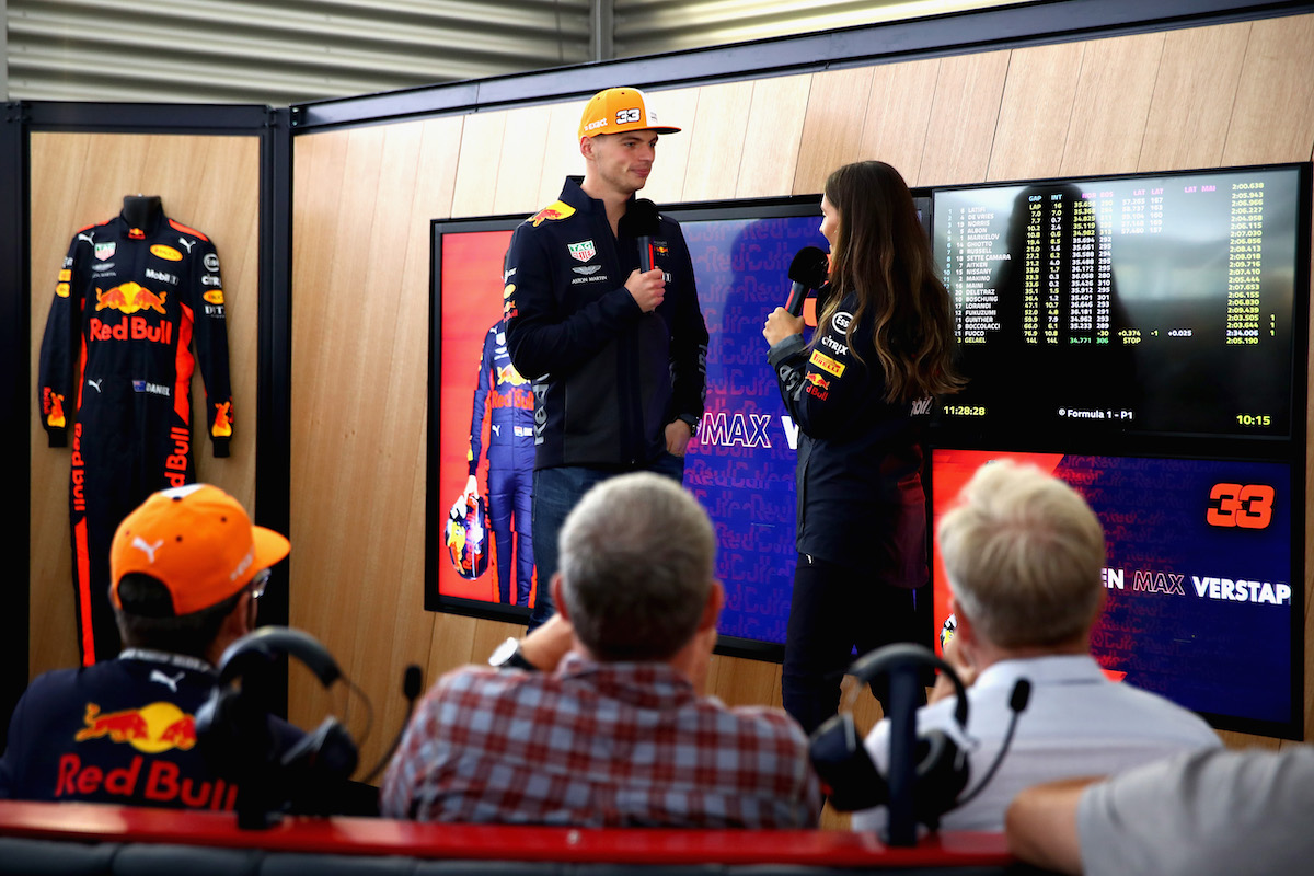 Red Bull Paddock Club Driver Appearances