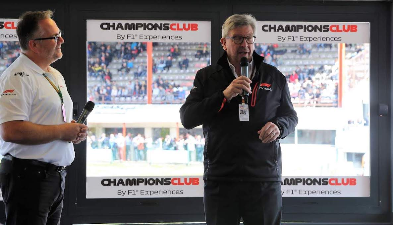 F1 Experiences Belgium 2018 Sunday004_ross_brawn
