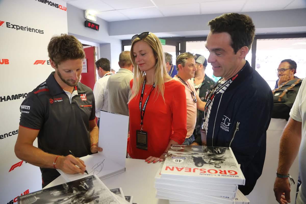 F1 Exp. France 2018 Saturday 058 Romain Grosjean