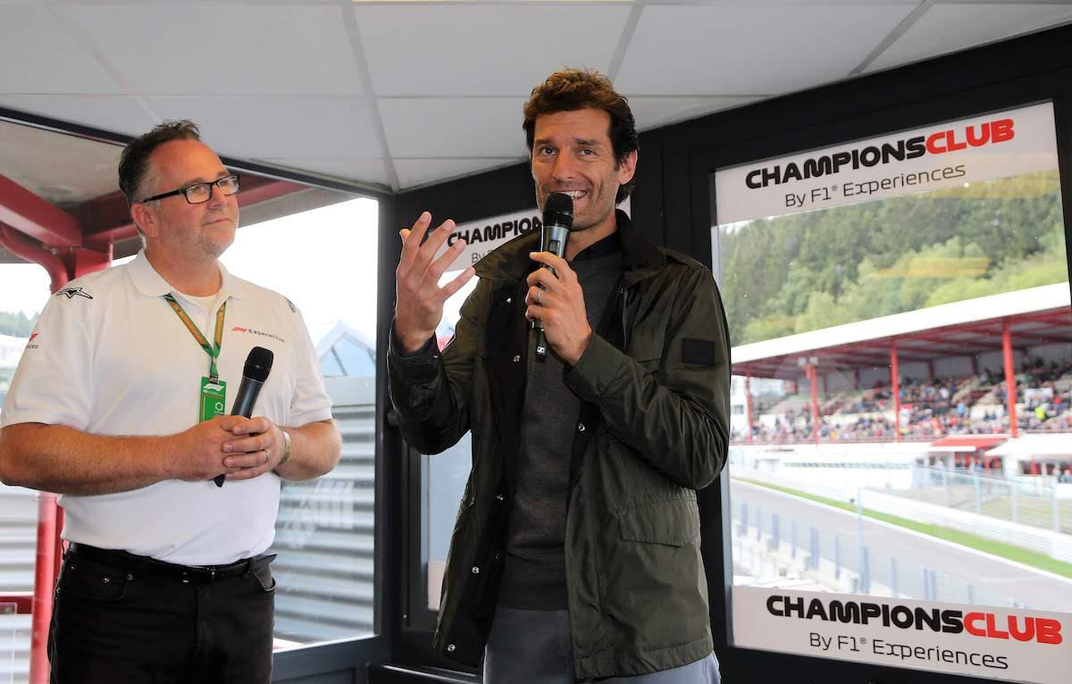 F1 Experience Belgium 2018 Saturday 071 Mark Webber