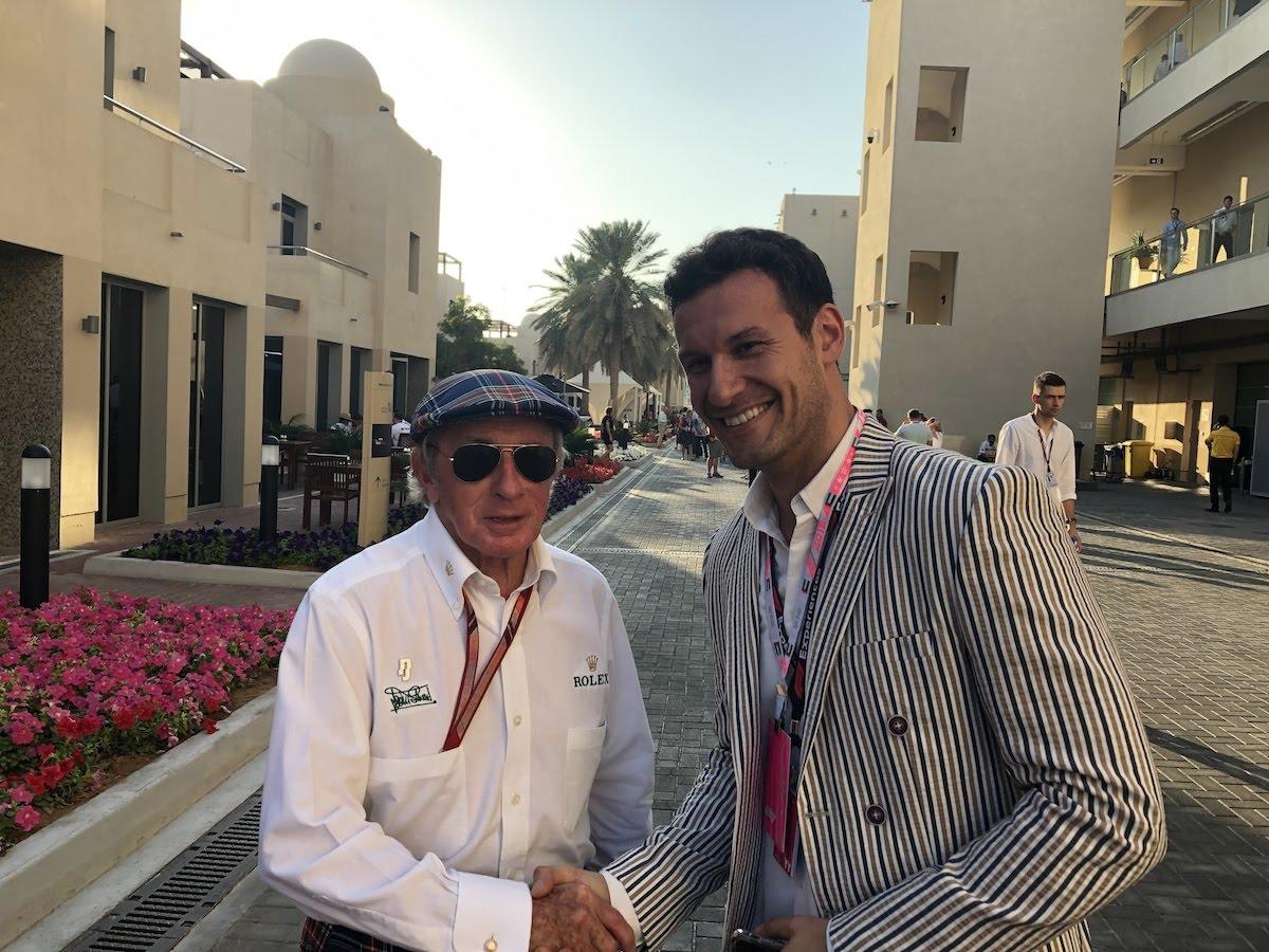 Jackie Stewart Abu Dhabi